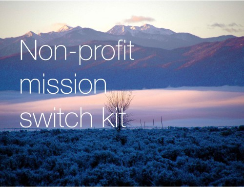 Non-Profit Mission Switch Kit