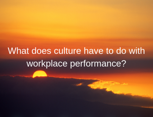 What does culture have to do with workplace performance?
