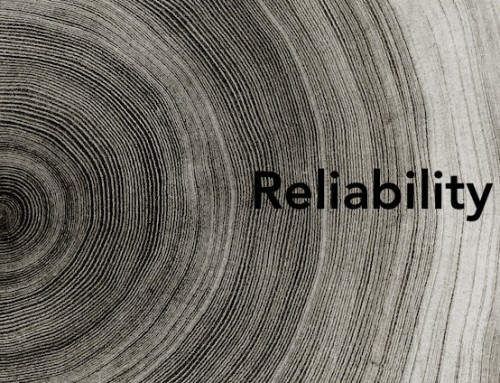 Reliability.  Having a reliable team starts with you.